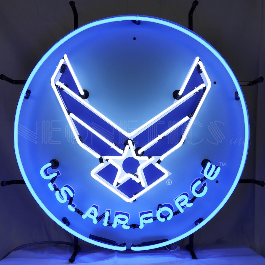 United States Air Force Usaf Neon Sign