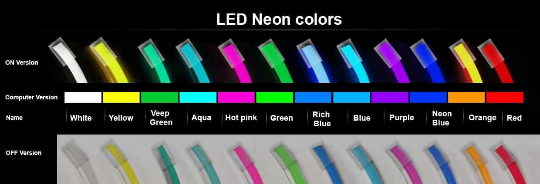 LED Neon Colors