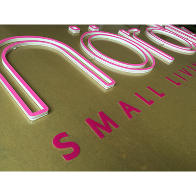 UV Print Neon Flex Sign