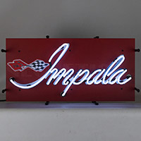 Impala Junior Neon Sign